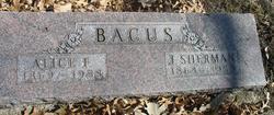 Alice Frances Allie <i>Baldwin</i> Bacus
