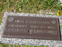 John E Bud Hartmann