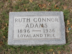 Ruth <i>Conner</i> Adams