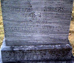 Martha Eliza <i>Roth</i> Winters