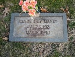 Clyde Guy Maney