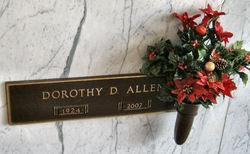 Dorothy <i>Dixon</i> Allen
