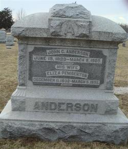 Eliza <i>Pemberton</i> Anderson