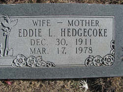 Eddie <i>Sessions</i> Hedgecoke