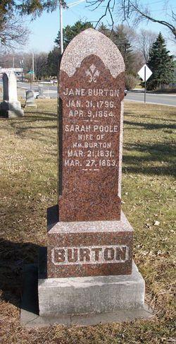 Sarah <i>Poole</i> Burton