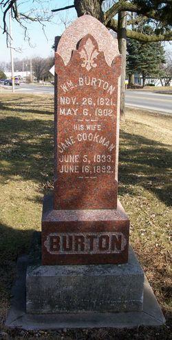 Jane <i>Cookman</i> Burton