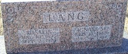Rosalia Stella <i>Lang</i> Lang-Kaiser