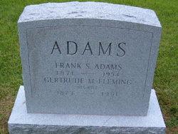 Gertrude M <i>Fleming</i> Adams
