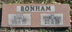 Henry Jack Bonham