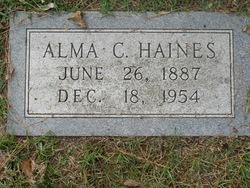 Alma C Haines