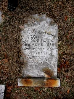 Mary E. <i>Hankinson</i> Beaty