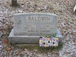 Ruby Jane <i>Sanders</i> Baldwin