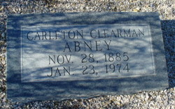 Carleton Clearman Abney