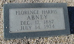 Florence Effie <i>Harris</i> Abney