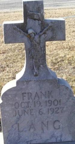 Frank Lang