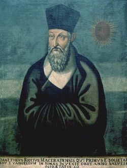 Rev Fr Matteo Ricci