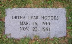 Ortha Lear Hodges
