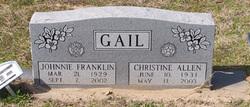 Charlsie Christine <i>Allen</i> Gail