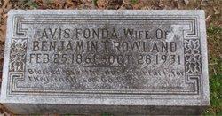 Avis <i>Fonda</i> Rowland