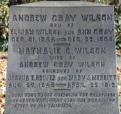 Andrew Gray Wilson