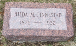 Hilda Marie <i>Carlson</i> Finnestad