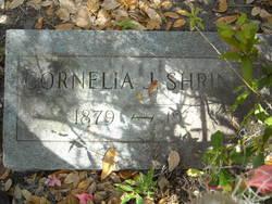 Cornelia Jane <i>Leonard</i> Shriner