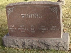 Harold W Whiting