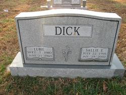 Sallie E <i>Wilkerson</i> Dick