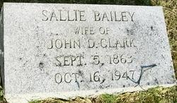 Sallie <i>Bailey</i> Clark