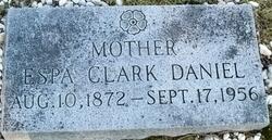 Espa <i>Clark</i> Daniel