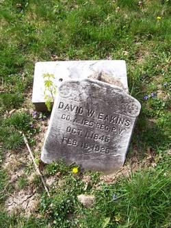 Pvt David W. Eakins