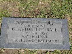 Clayton Lee Ball