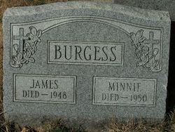 Minnie <i>Scheuringer</i> Burgess