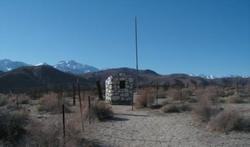 1872 California Earthquake Victims Graveyard