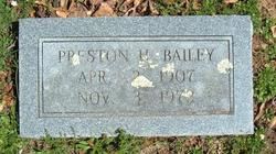 Preston H. Bailey