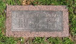 Lucy Belle Bailey