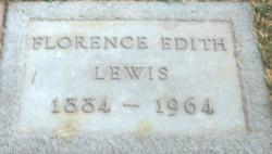 Florence Edith <i>Maddison</i> Lewis