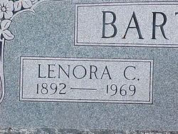 Lenora Carolyn <i>Hibbs</i> Barton