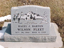 Hazel Jane <i>Barton</i> Fleet