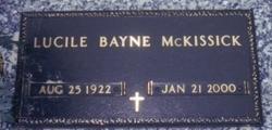 Mary Lucile <i>Bayne</i> McKissick