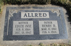 Edith May <i>Ivie</i> Allred