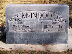 Henry Beryl McIndoo
