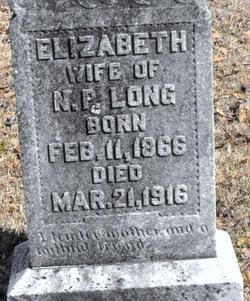 Elizabeth <i>Smith</i> Long