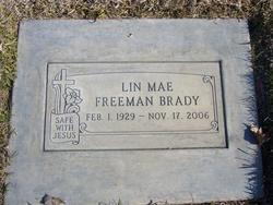 Lin Mae <i>Freeman</i> Brady