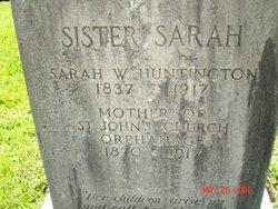 Sarah W. Sister Sarah Huntington