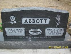 Morse Earl Abbott