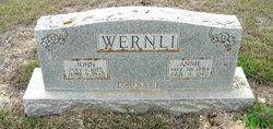 Annie Frieda <i>Reinhardt</i> Wernli