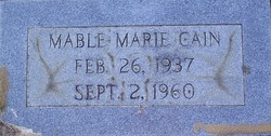 Mable Marie Cain