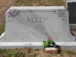 Julia <i>Maxwell</i> Allen