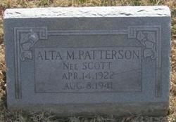 Alta M. <i>Scott</i> Patterson